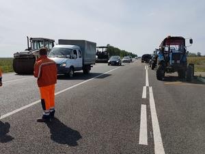 Ремонт дороги Шопша — Нижний Новгород начался в Чкаловском районе