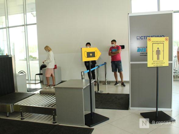 COVID не прилетит: нижегородский аэропорт усилил меры безопасности - фото 33