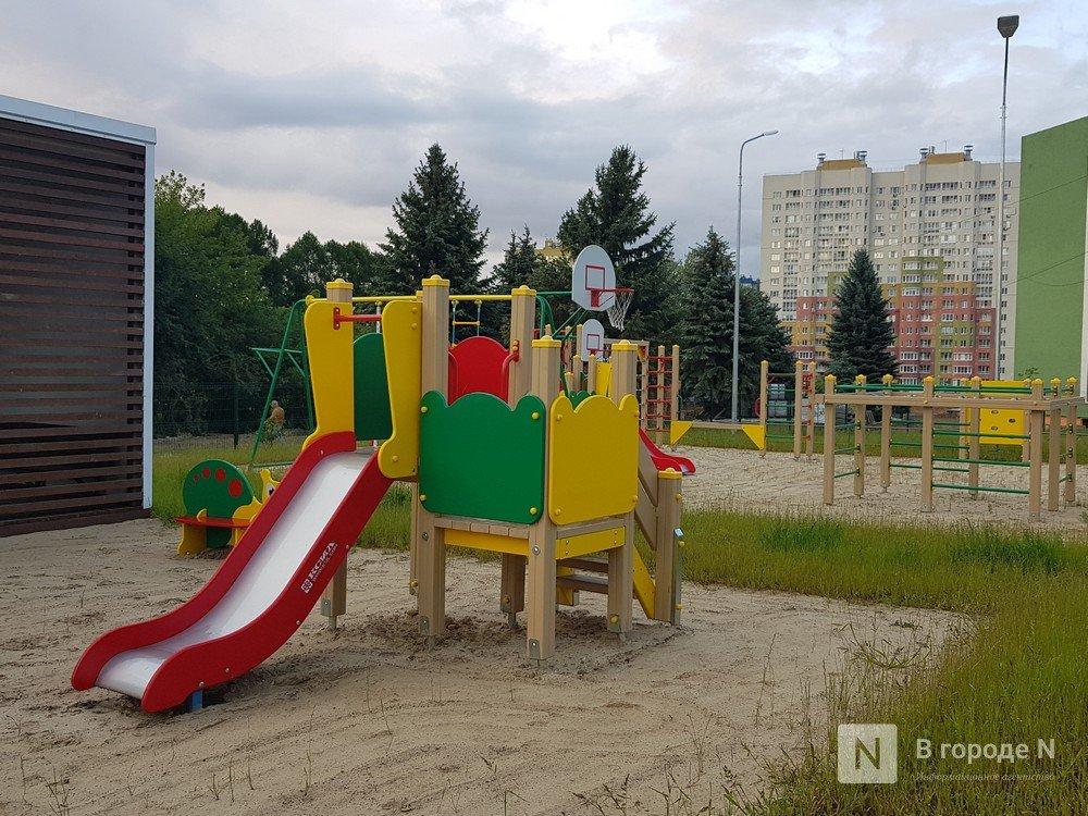 Две новые детские площадки установят в Приокском районе - фото 1