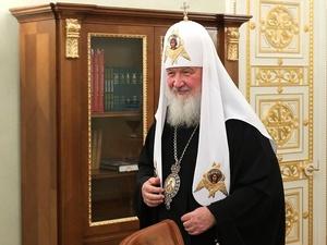 Патриарх Кирилл предложил вписать Бога в Конституцию