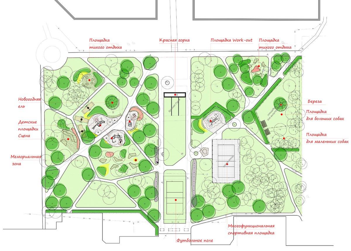 Новая «Красная горка»: как изменится территория на улице Усилова - фото 4