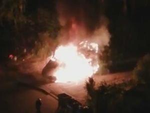 В Сормовском районе среди ночи загорелась «Газель» (ВИДЕО)
