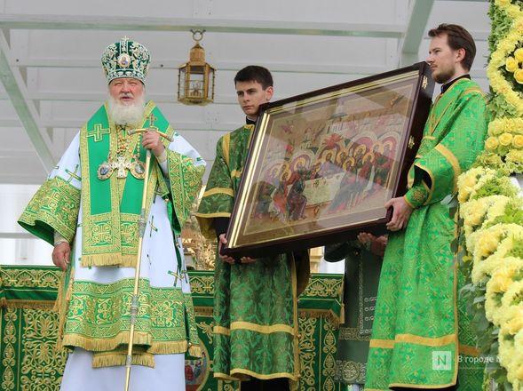 Патриарх Кирилл возглавил божественную литургию в Дивееве  - фото 29