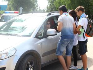 Воскресенские подростки напомнили водителям о правилах дорожного движения (ФОТО)