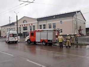 «Заминированный» вокзал в Дзержинске оцепили спецслужбы