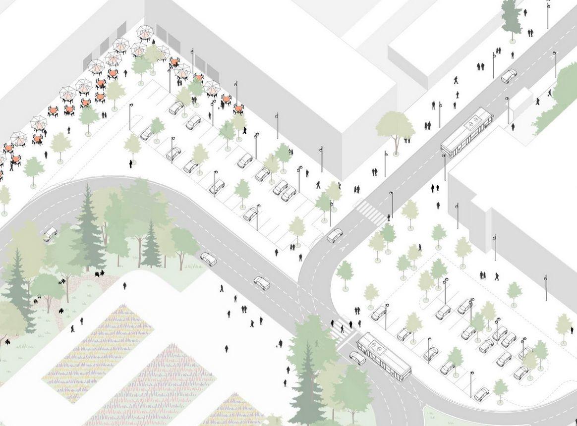 Деревья в кадках и новые скверы: как преобразится улица Большая Покровская - фото 3