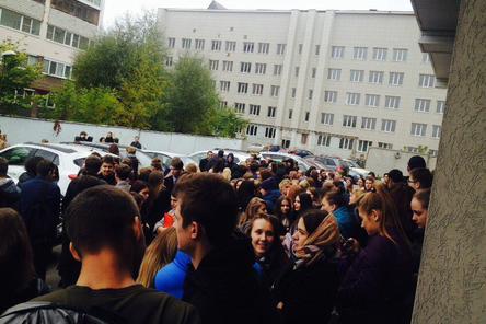Массовые эвакуации в Нижнем Новгороде