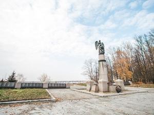 Начались работы по реставрации мемориала в парке «Швейцария»