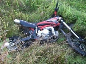 Мотоциклист разбился насмерть в Вачском районе