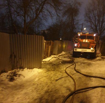 Жилой дом сгорел в Ленинском районе - фото 2