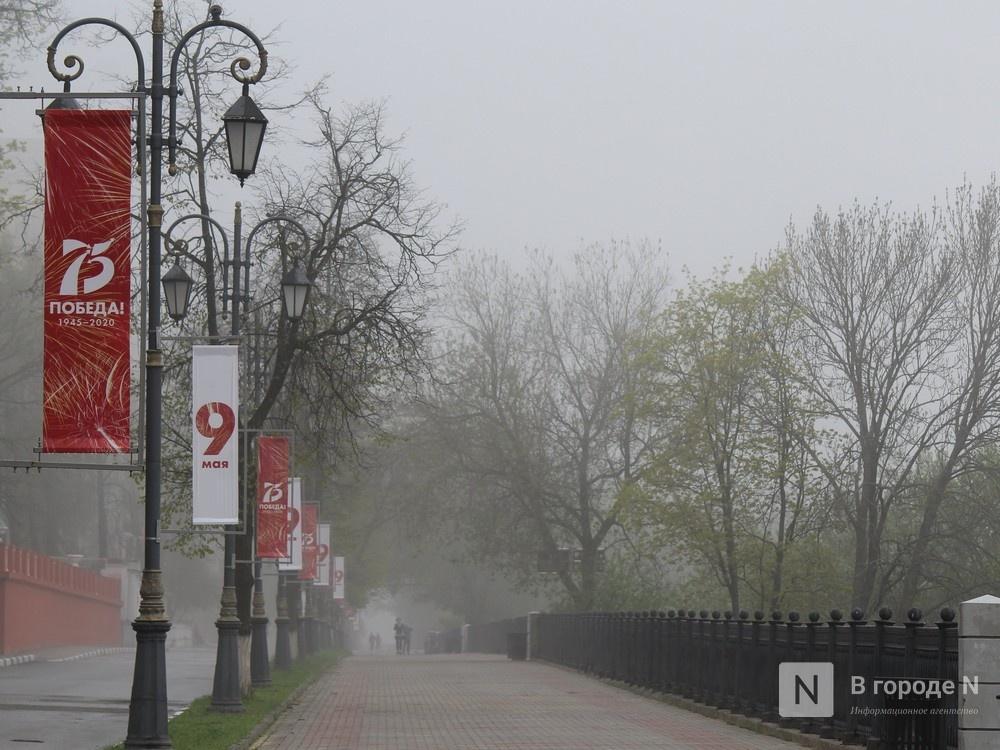 Пустые улицы и «Бессмертный полк» на балконах - фото 7