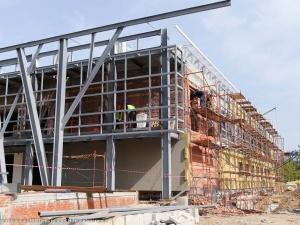 Реконструкция здания театра «Вера» в Нижнем Новгороде наполовину завершена